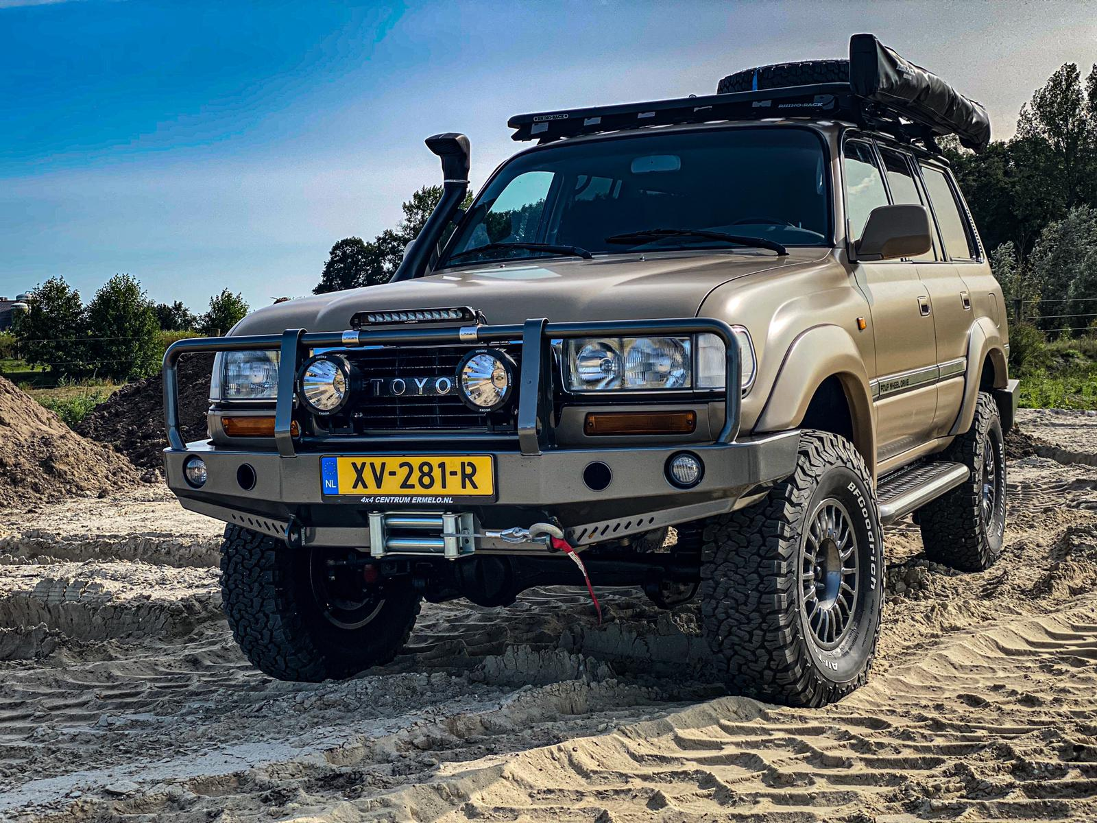 full wrap, landcruiser, werner budding