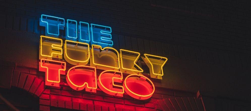 lichtreclame, neon letters, lichtletters