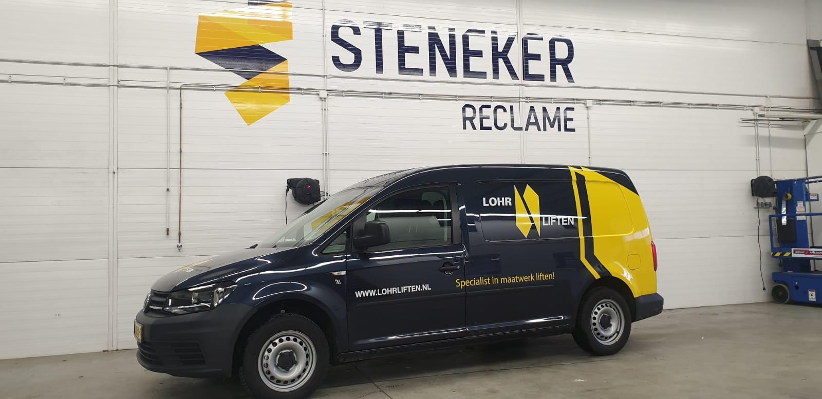 Steneker reclame, Apeldoorn, auto belettering, auto reclame, car wrap, window tinten, goedkoop, kwaliteit